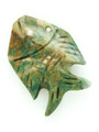Mayan Carved Jade Amulet 29mm (GJ265)