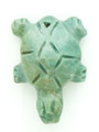 Mayan Carved Jade Amulet 25mm (GJ268)