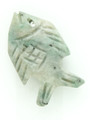 Mayan Carved Jade Amulet 26mm (GJ271)