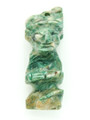 Mayan Carved Jade Amulet 36mm (GJ278)