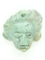 Mayan Carved Jade Amulet 25mm (GJ280)