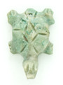 Mayan Carved Jade Amulet 28mm (GJ281)