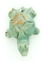 Mayan Carved Jade Amulet 25mm (GJ284)
