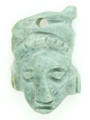 Mayan Carved Jade Amulet 24mm (GJ285)
