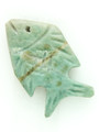 Mayan Carved Jade Amulet 27mm (GJ290)