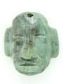Mayan Carved Jade Amulet 25mm (GJ291)
