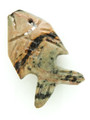 Mayan Carved Jade Amulet 26mm (GJ292)