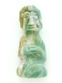 Mayan Carved Jade Amulet 30mm (GJ293)