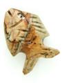 Mayan Carved Jade Amulet 23mm (GJ294)