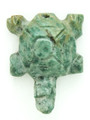 Mayan Carved Jade Amulet 29mm (GJ295)