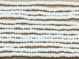 White Glass Seed Beads - 8/0 (SB100)