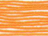 Orange Marigold Glass Seed Beads - 8/0 (SB101)