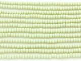 Pale Celadon Glass Seed Beads - 8/0 (SB102)