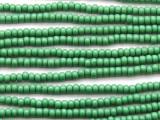 Green Glass Seed Beads - 8/0 (SB106)