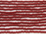 Dark Cranberry Glass Seed Beads - 8/0 (SB108)