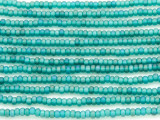 Turquoise Mix Matte Glass Seed Beads - 8/0 (SB111)