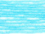 Aqua Blue AB Glass Seed Beads - 8/0 (SB117)