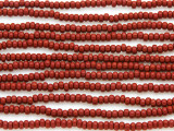 Brick Red Glass Seed Beads - 8/0 (SB127)