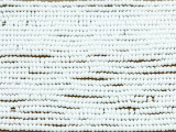 White Matte Glass Seed Beads - 11/0 (SB128)