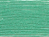 Turquoise Green Metallic Glass Seed Beads - 11/0 (SB132)