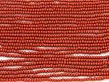 Brick Red Glass Seed Beads - 11/0 (SB134)