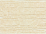 Cream Metallic Glass Seed Beads - 11/0 (SB145)