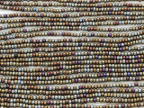 Brown Olive Jeweltone Glass Seed Beads - 11/0 (SB165)