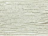 Bright Silver Metallic Glass Seed Beads - 10/0 (SB177)