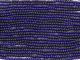 Dark Blue Glass Seed Beads - 10/0 (SB195)
