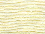 Cream Ivory Glass Seed Beads - 10/0 (SB200)