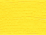 Yellow Glass Seed Beads - 10/0 (SB202)