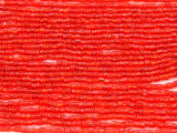 Red Glass Seed Beads - Bugle (SB205)