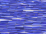 Cobalt Blue Glass Seed Beads - Bugle (SB207)