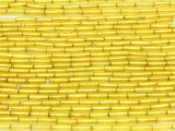 Yellow Glass Seed Beads - Bugle (SB210)