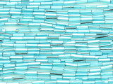 Light Blue Glass Seed Beads - Bugle (SB211)