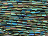 Jeweltone Glass Seed Beads - Bugle (SB212)