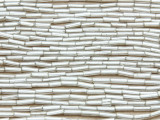 Light Silver Glass Seed Beads - Bugle (SB227)