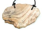 Picture Jasper Gemstone Slab Pendant (GSP1826)