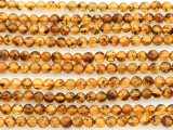 Genuine Amber Round Beads 3-4mm (AB74)