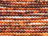 Genuine Amber Round Beads 3-4mm (AB75)