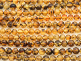 Genuine Amber Round Beads 4-5mm (AB78)