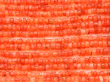Carnelian Agate Heishi Gemstone Beads 1-3mm (GS4366)