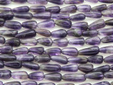 Amethyst Teardrop Gemstone Beads 7-10mm (GS4367)
