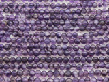 Amethyst Round Gemstone Beads 4mm (GS4371)