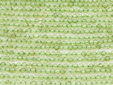 Peridot Round Gemstone Beads 2mm (GS4374)