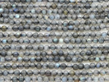 Labradorite Round Gemstone Beads 3mm (GS4375)
