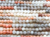 Moonstone Round Gemstone Beads 4mm (GS4396)