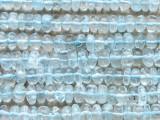 Aquamarine Rondelle Gemstone Beads 5-6mm (GS4405)