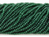 Pine Green Crystal Glass Beads 2mm (CRY425)