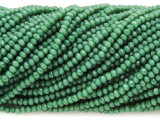 Green Crystal Glass Beads 2mm (CRY429)